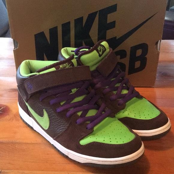 """separation shoes bd24f c2ad0 Nike Dunk Mid Pro SB """"Donatello"""". M5bd88719534ef997e44d39e3"""